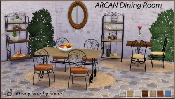Khany Sims: ARCAN Dinningroom