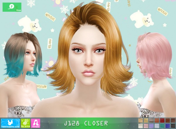 NewSea: J128 Closer free  hairstyle