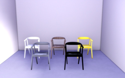 Simmer Soul: IKEA STOCKHOLM  Chair & Table