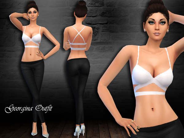 The Sims Resource: Georgina outfitby Saliwa
