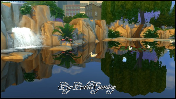 Mod The Sims: Mirror Pool Water by Bakie