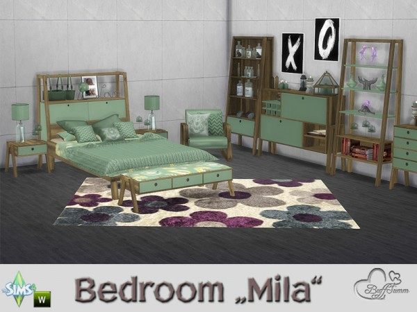 The Sims Resource: Bedroom Mila by BuffSumm
