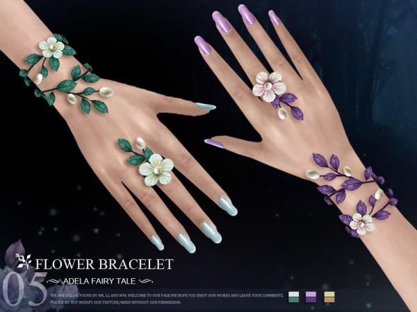 The Sims Resource: Bracelet N05 by S Club