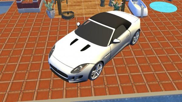Lory Sims: Jaguar F Type