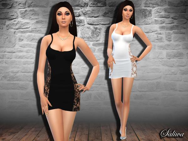The Sims Resource: Sidney Dress by Saliwa