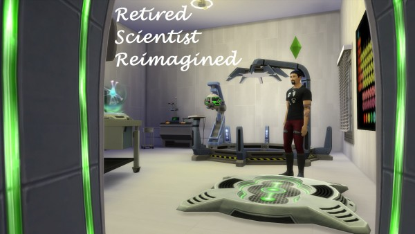 Mod The Sims: Retired Scientist Reimagined by coolspear1
