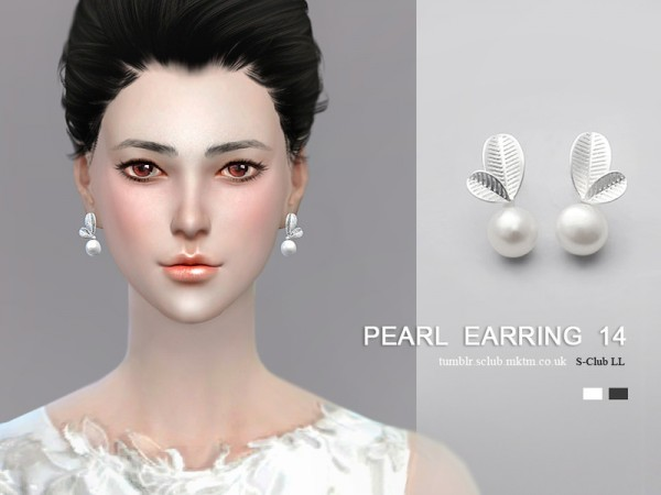 The Sims Resource: Earrings 14 by S Club