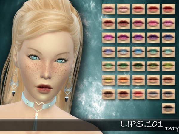 The Sims Resource: Lips 101 by taty