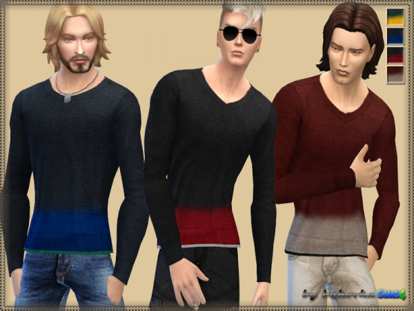 The Sims Resource: Sweater Fuzzy Strip by bukovka