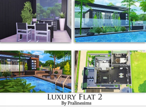 The Sims Resource: Luxury Flat 2 by Pralinesims