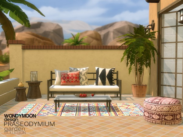 The Sims Resource: Praseodymium Garden by wondymoon