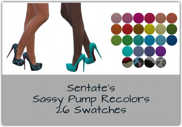 Simsworkshop: Sassy Pump Recolors by maimouth