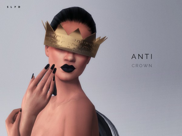 The Sims Resource: ANTI Crown by SLYD