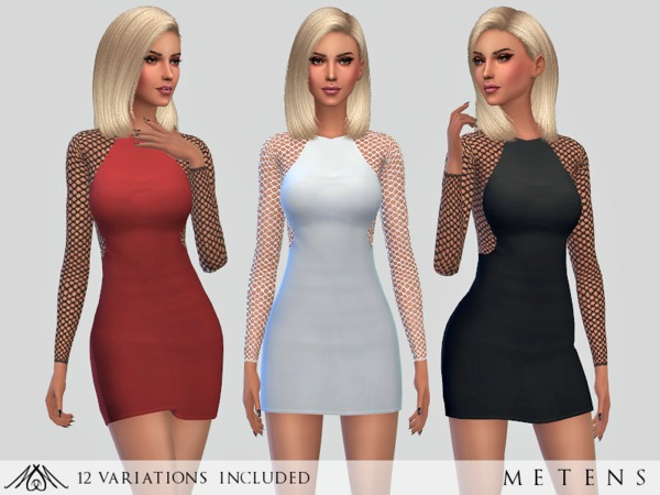 The Sims Resource: Escape   Dress by Metens