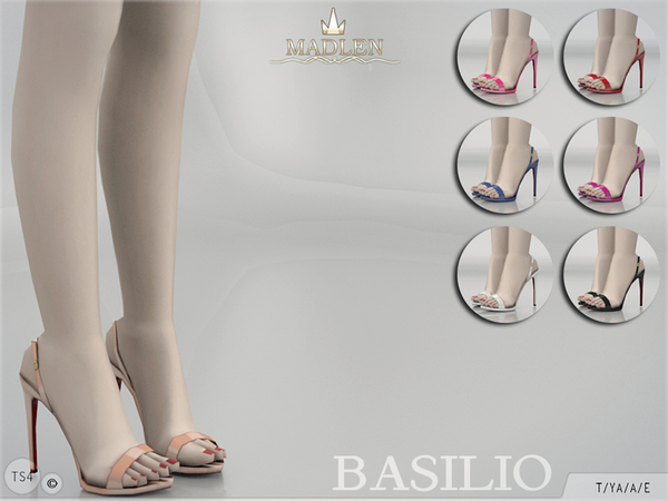 The Sims Resource: Madlen Basilio Shoes by MJ95