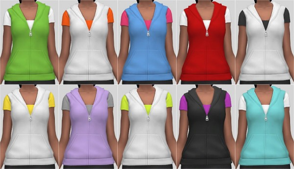 Veranka: T Shirt with Vest