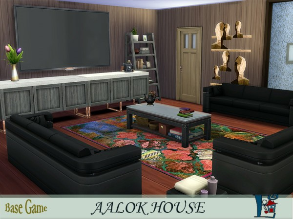 The Sims Resource: Aalok House by Evi