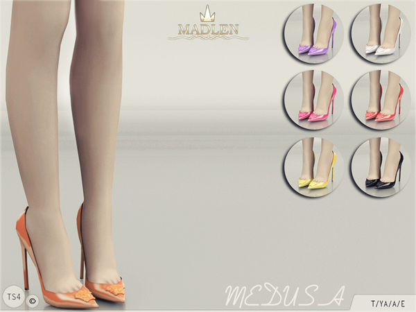 The Sims Resource: Madlen Medusa Shoes by MJ95