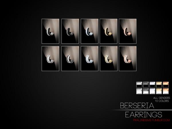 The Sims Resource: Berseria Earrings by Pralinesims