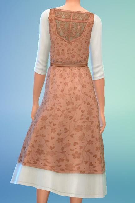 Blackys Sims 4 Zoo: Dress Naturi 3 by mammut