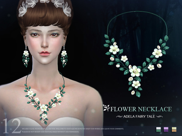 The Sims Resource: Necklace N12 by S Club