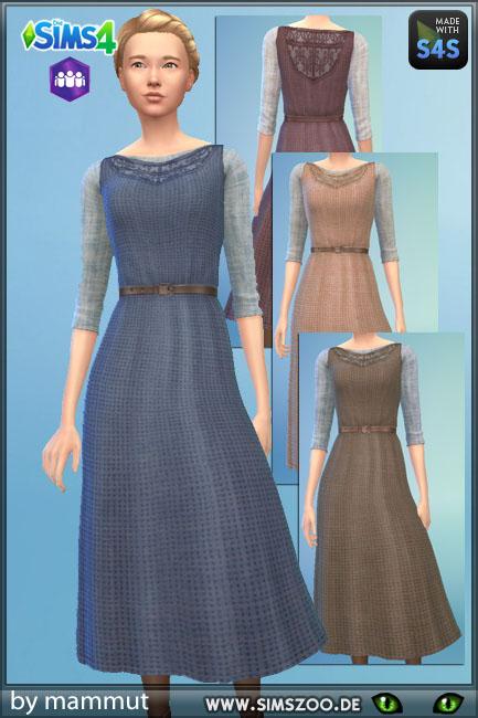 Blackys Sims 4 Zoo: Dress MA2 by mammut
