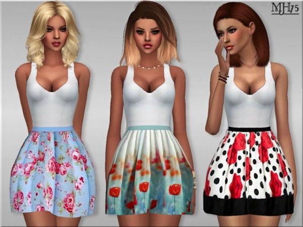 Sims Addictions: Kawaii Dress by Margies Sims 4