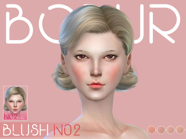 The Sims Resource: Blush N02 by Bobur