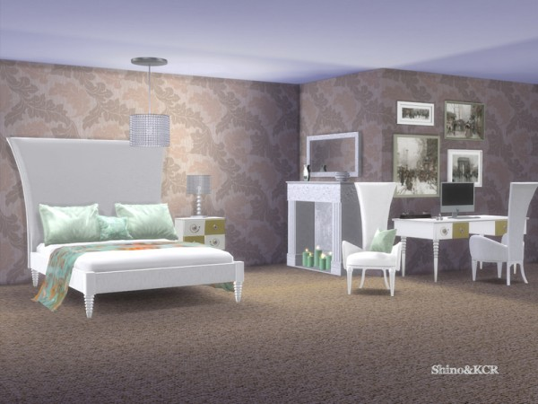 The Sims Resource: Elegant Bedroom by ShinoKCR