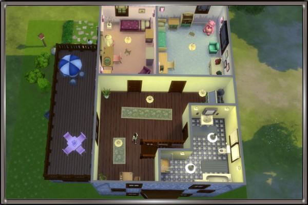 Blackys Sims 4 Zoo: Friedvoll house by MadameChaos