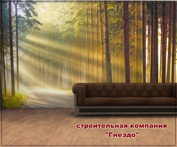 Sims 3 by Mulena: Forest 01 paintings
