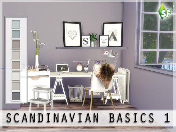 The Sims Resource Scandinavian Wall Set By Simfabulous
