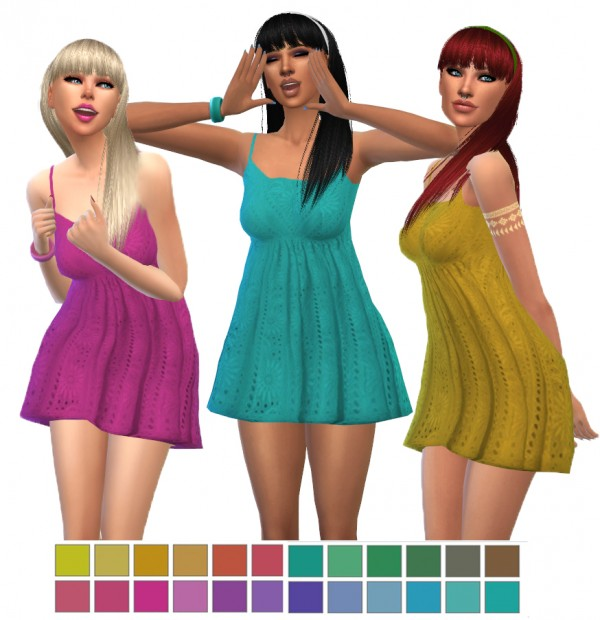 Simsworkshop: Pure Dress Recolors by maimouth