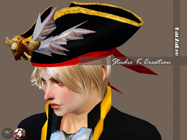 Studio K Creation: Pirate hat