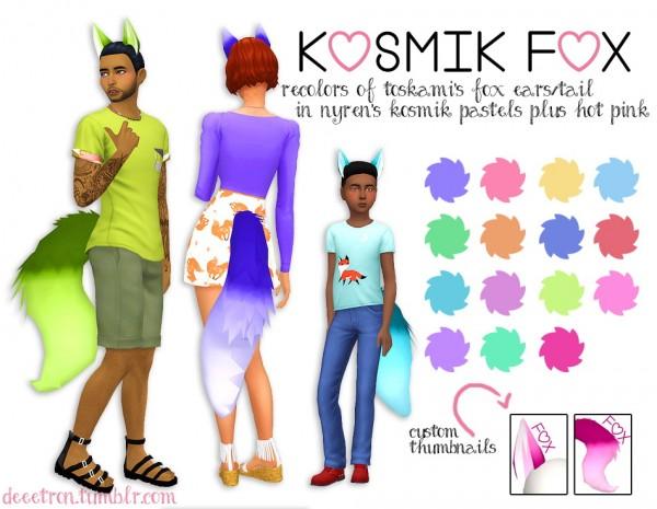Simsworkshop: Kosmik Fox 1 by dtron
