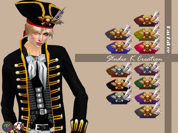 Studio K Creation Pirate Hat Sims 4 Downloads