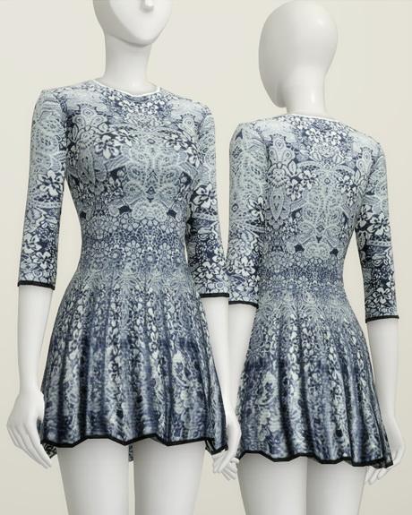 Rusty Nail: Pattern dress