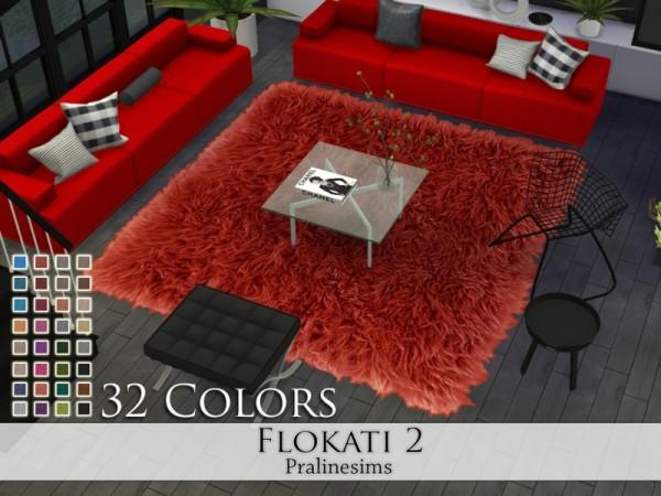 The Sims Resource: Flokati 2 rugs by Pralinesims