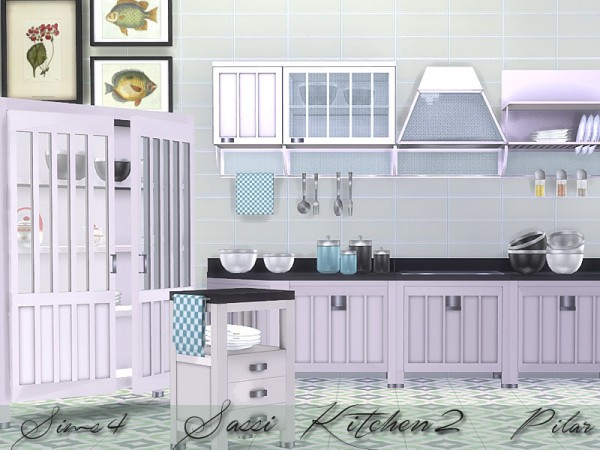 SimControl: Sassi Kitchen 2 by Pilar
