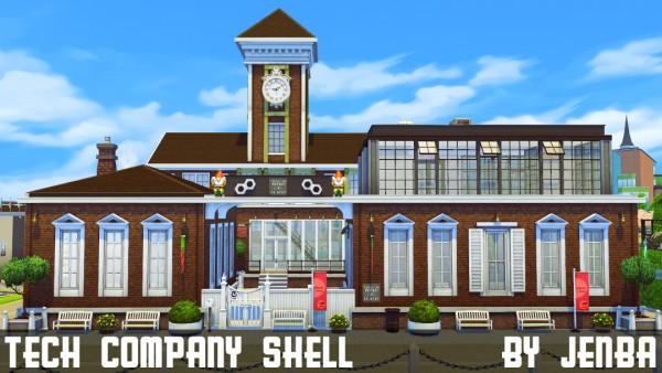 Jenba Sims: Tech Company Shell
