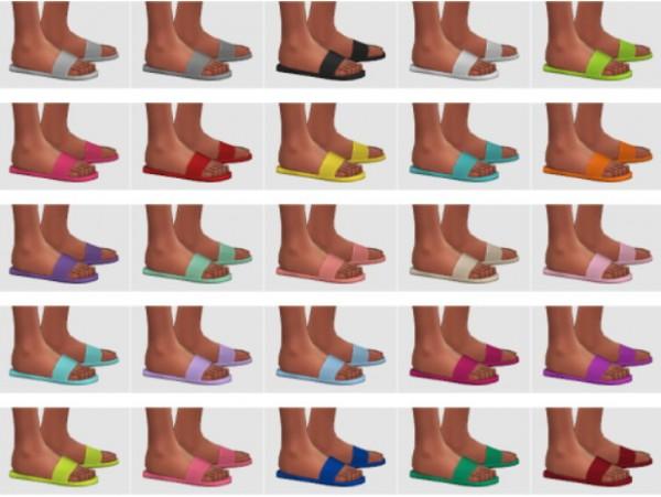 Veranka: Slide Sandals