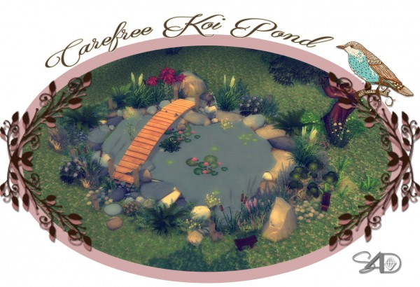 how to add a pond in sims 4