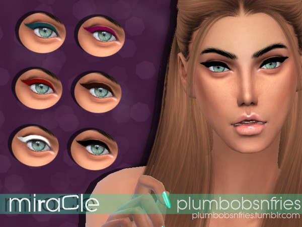 Plumbobsnfries: Miracle eyeliner