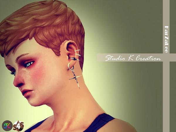 Studio K Creation: Cross Earrings