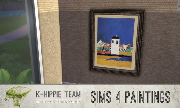 Mod The Sims: 7 Paintings   classiKa   vol1 + vol2 by Blackgryffin