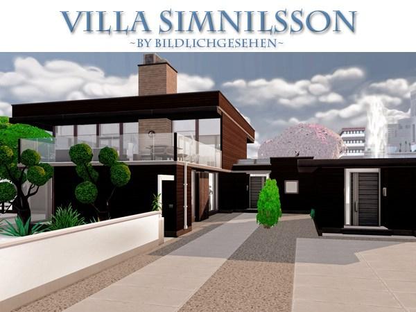 Akisima Sims Blog: Villa Simnilsson