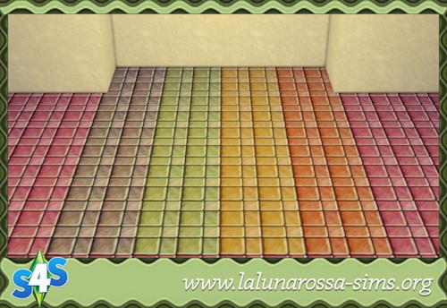 La Luna Rossa Sims: Pure Marble Tiles
