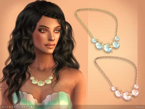 The Sims Resource: Hitote Necklace by toksik