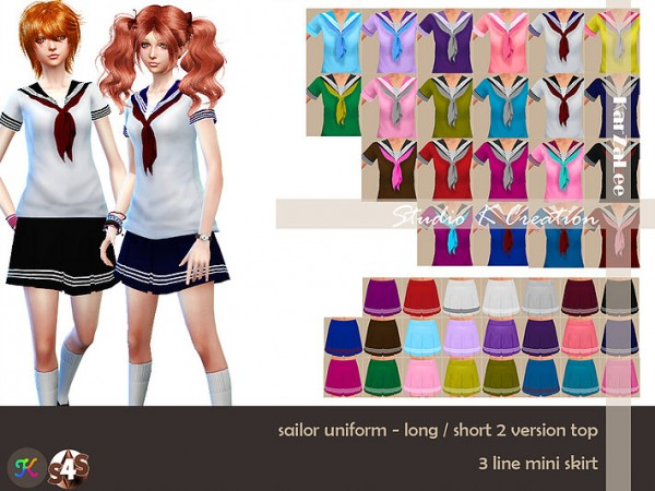 Studio K Creation: Sailor uniform for female
