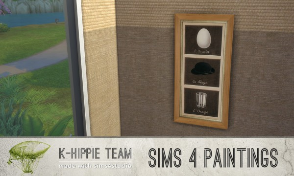 Mod The Sims: 7 Paintings   classiKa Magritte by Blackgryffin